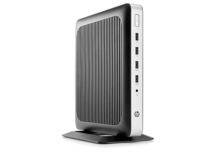 Hp T630 Thin Client Tower Gx-420Gi 32GB M.2 Flash Memory 4GB DDR4 RAM 2GHz - 1