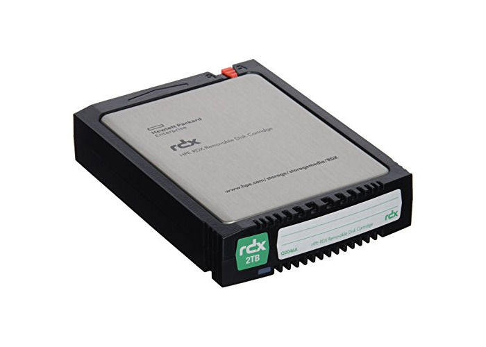HPE RDX 2TB Removable Disk Cartridge - 1