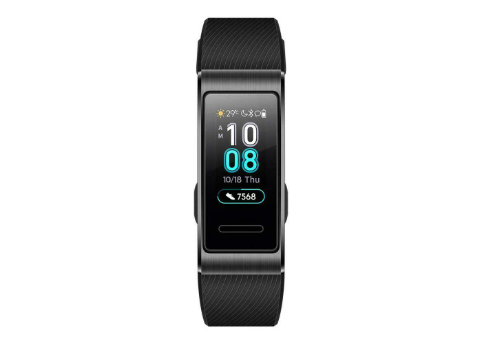 Huawei Band 3 Pro Fitness Wristband Activity Tracker Black GPS- Large Screen - 2