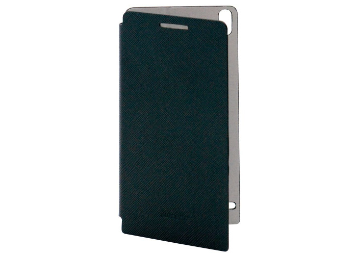 Huawei Leather Case for Ascend P6 Edge - Black - 2