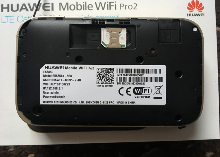 Rent Huawei Mobile WiFi Pro 2 in Leicester | Fat Llama