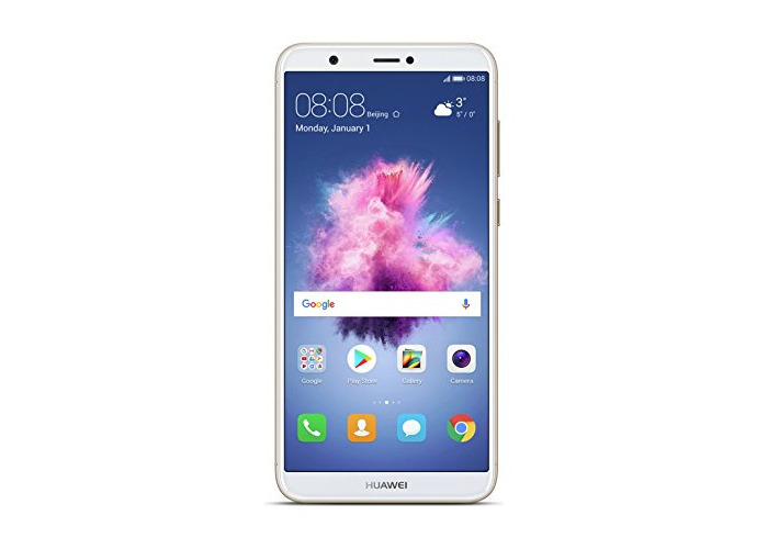 Huawei P Smart (Single SIM) 32GB Android 8.0 UK version SIM-Free Smartphone - Gold - 1