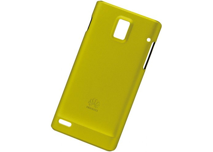 Huawei PC Cover for Ascend P1 - Yellow/Green - 1