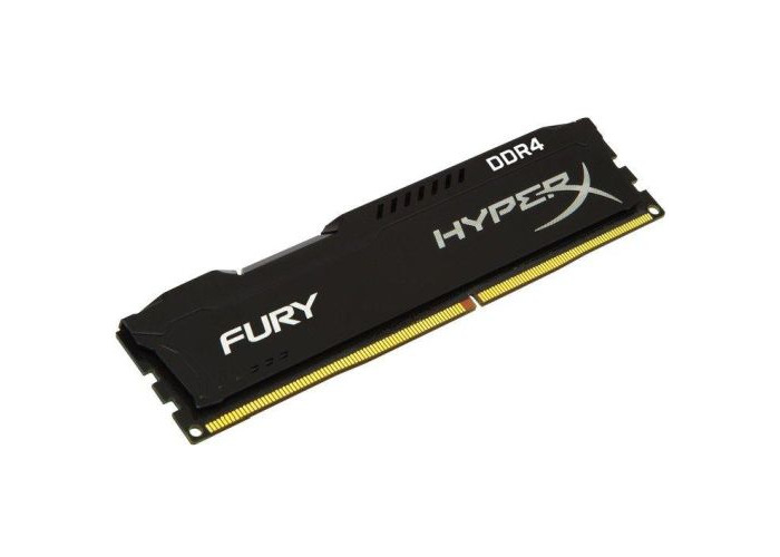 HyperX Fury Black 4GB, DDR4, 2666MHz (PC4-21330), CL15, DIMM Memory - 1