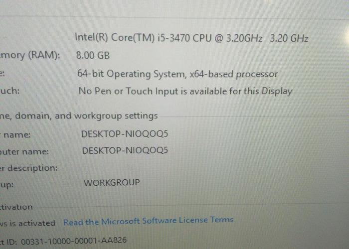 i5 PC 8GB Ram - 2