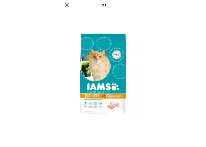 Iams Cat Adult Light In Fat Chicken 700g Bargain✅ - 1