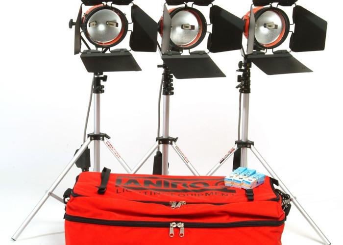 Ianiro 650w redheads kit (3xHeads) - 1