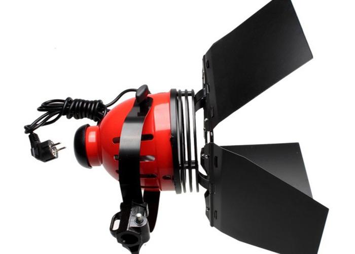 Ianiro Red 3 Head Kit. Video Studio Continuous Lighting 800w - 2