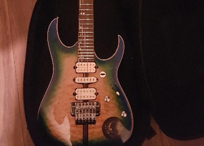 Ibanez premium floyd rose guitar - 1