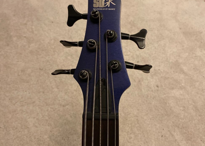 Ibanez SR305 5-string Bass Guitar (Blue) - 2