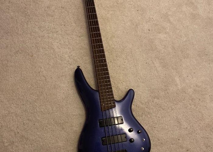 Ibanez SR305 5-string Bass Guitar (Blue) - 1