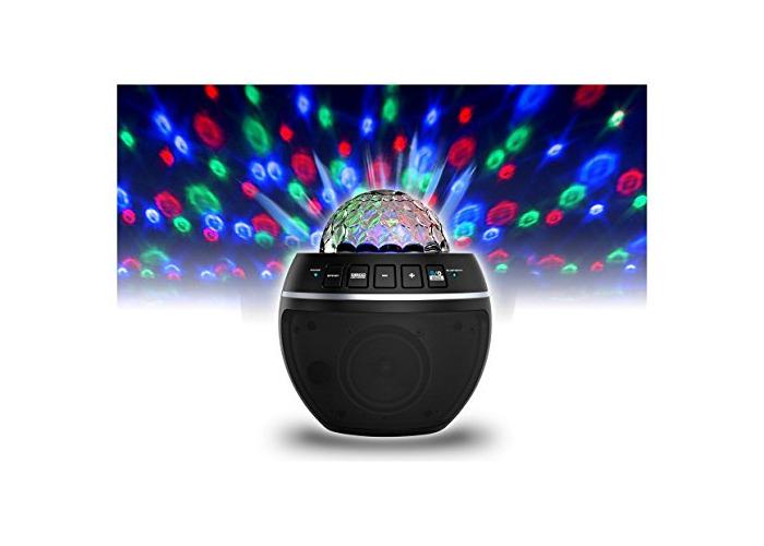 iDance BB10(BK) Disco Lights Bluetooth Party Ball - 1