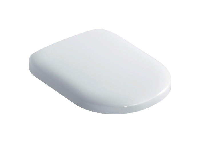 Ideal Standard J493001 Playa Slow-Close Toilet Seat and Cover, White - 1