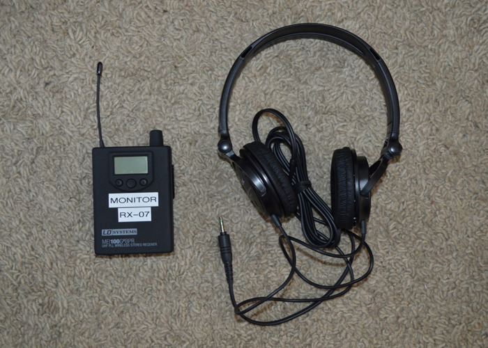 IEM / IFB Monitor Wireless Headsets - 1