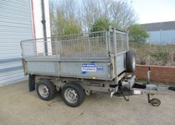 Ifor Williams TT85G 8X5 Tipping Trailer, Twin Axled Electric - 1