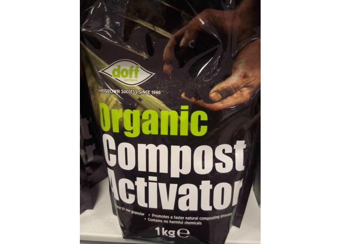 IKG ORGANIC COMPOST ACTIVATOR NATURAL COMPOSTING PLANT SOIL CARE COMPOST GARDEN - 1