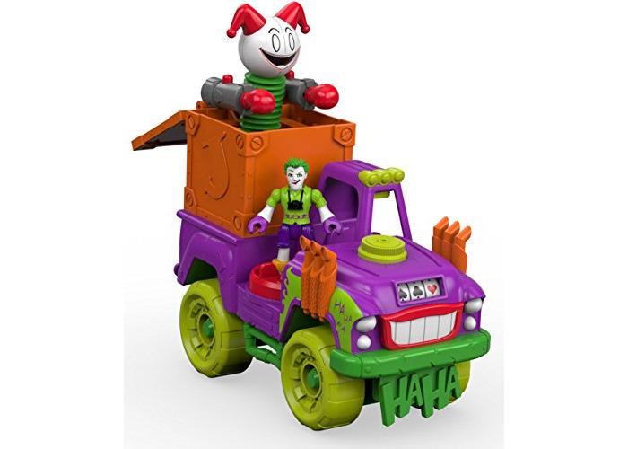 Imaginext DRT589993 - DC Super Friends - the Joker Action Figure - Surprise Tank Vehicle - Batman Villian - 2
