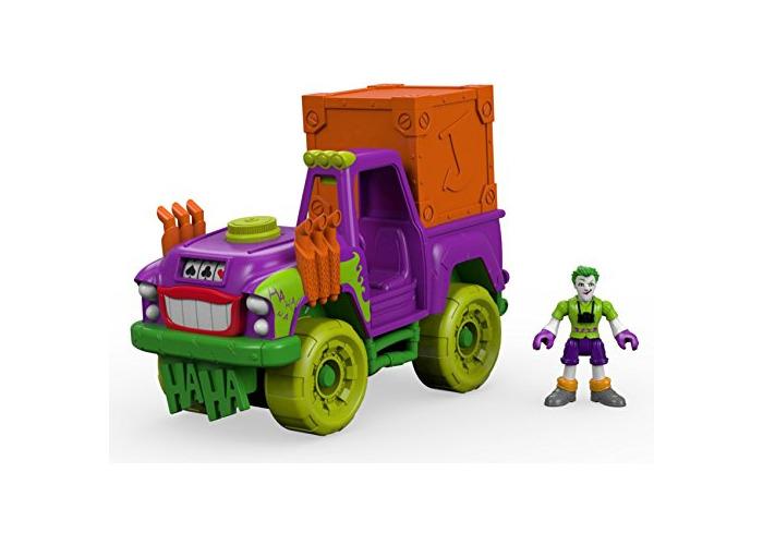 Imaginext DRT589993 - DC Super Friends - the Joker Action Figure - Surprise Tank Vehicle - Batman Villian - 1