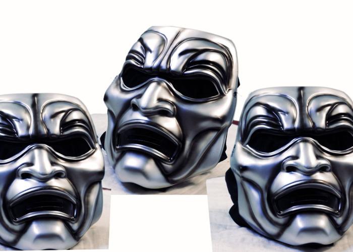 Immortals mask - 1