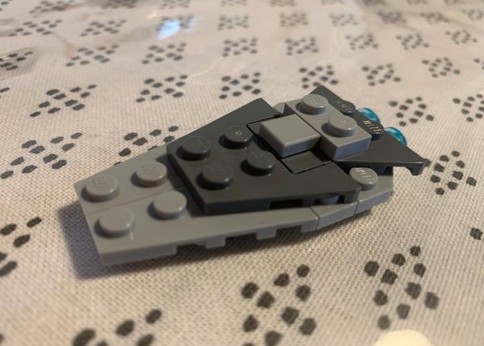 Imperial cruiser lego - 1