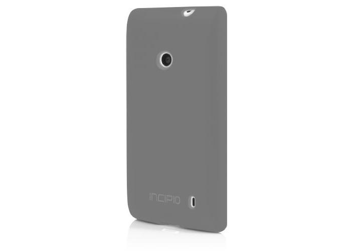 Incipio NK-161 NGP for Nokia Lumia 520 - Translucent Mercury - 1