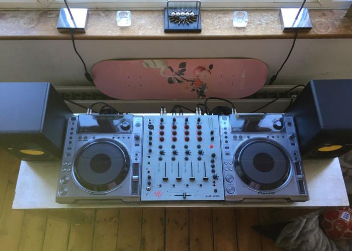 Industry Standard DJ Setup - Pioneer, Allen & Heath, KRK - 1