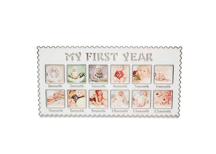Infant's Baby One Year Picture Hanging Decorative Banquet Photo Picture Frames - 2