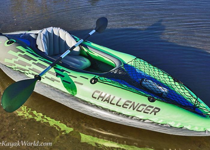 Inflatable Kayak - Challenger K1 - 1