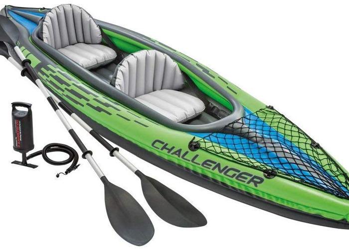 Inflatable Kayak - Challenger K1 - 2