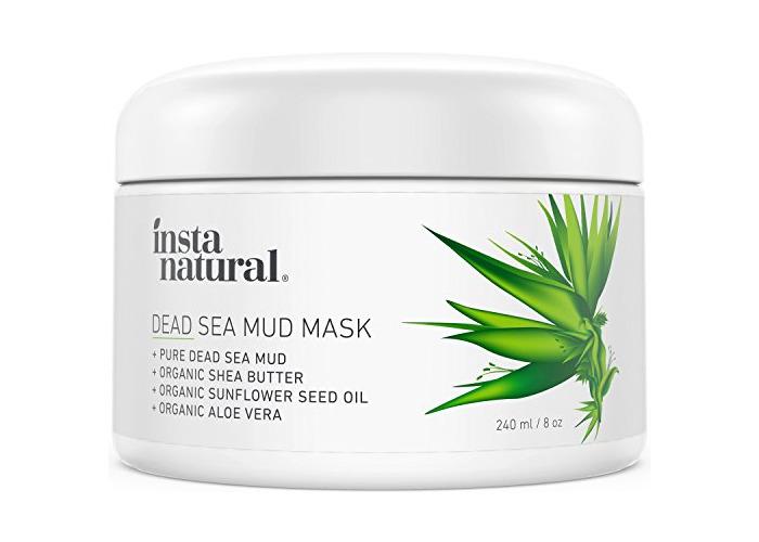 InstaNatural Dead Sea Mud Face Mask - 240 ml - 1