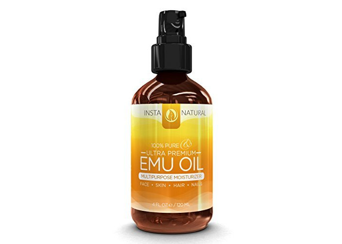 InstaNatural Emu Oil – 100% Pure Moisturizer for Hair Loss, Eczema, Acne, Stretch Marks, Scars & Joint Pain – Natural All in One for Skin, Eyes, Face & Nails – Advanced Shampoo After Treatment – 4 OZ - 2