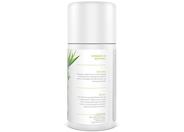 InstaNatural Vitamin C Moisturiser Cream - Facial Anti Aging & Wrinkle Reducing Lotion for Men & Women - With Hyaluronic Acid & Organic Jojoba Oil - Hydrating for Dry, Sensitive, & Oily Skin – 100 ml - 2