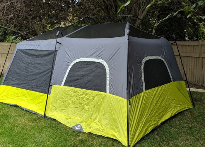 Instant 9 person Two Room Tent - Sets up in under 5 min! - 2
