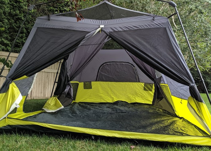 Instant 9 person Two Room Tent - Sets up in under 5 min! - 1