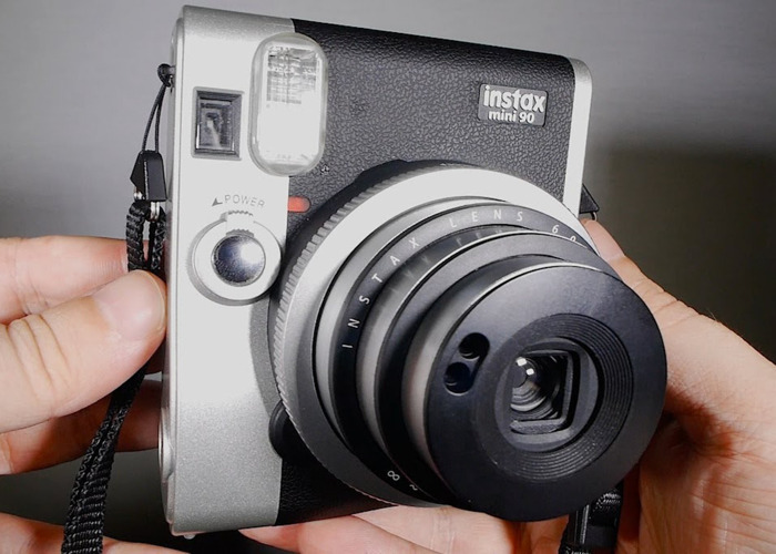 Instax Mini 90 NEO Classic Camera + Case - 1