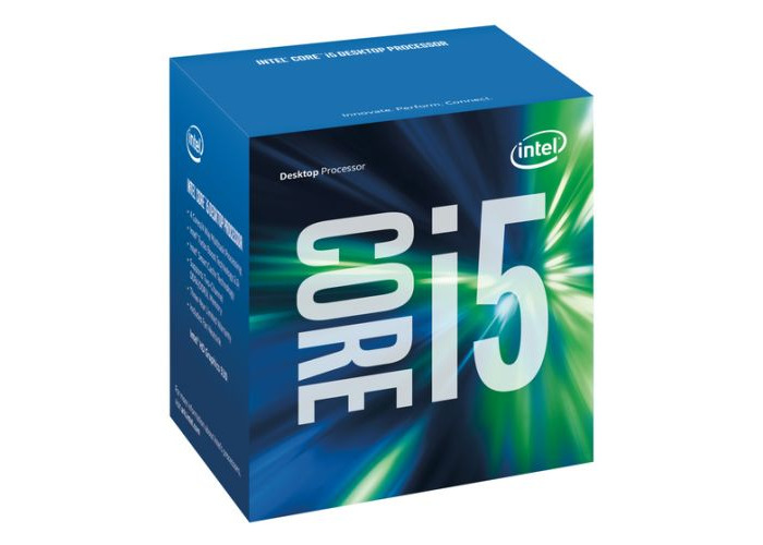 Intel Core I5-6400 CPU, 1151, 2.7 GHz, Quad Core, 65W, 14nm, 6MB Cache, HD GFX, 8 GT/s, Sky Lake - 1