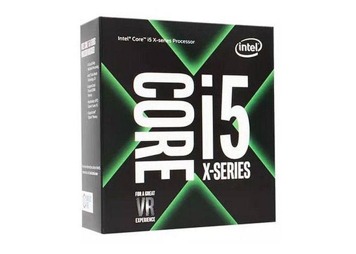 Intel Core I5-7640X CPU, 2066, 4.0GHz (4.2 Turbo), Quad Core, 112W, 6MB Cache, Overclockable, No Graphics, Sky Lake, NO HEATSINK/FAN - 1