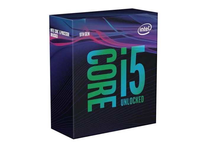 Intel Core I5-9600K CPU, 1151, 3.7 GHz (4.6 Turbo), 6-Core, 95W, 14nm, 9MB, Overclockable, NO HEATSINK/FAN, Coffee Lake Refresh - 1