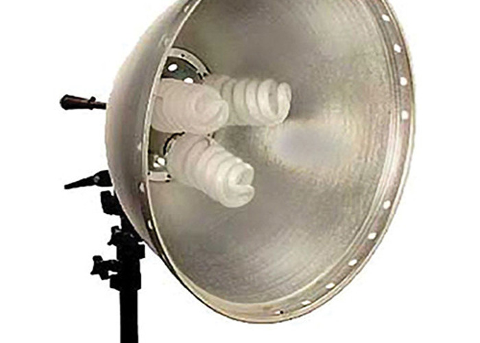 Interfit Fluorescent Flood Light with Bulbs - 72 Total Watts - 1