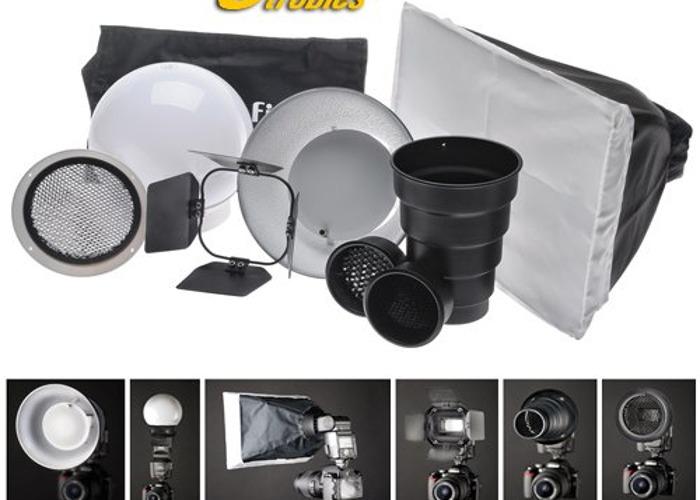 Interfit Strobies Portrait kit With Flex Mount - 1