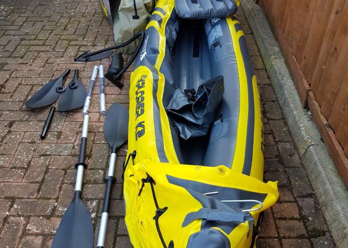 Intex 2 person kayak - 1