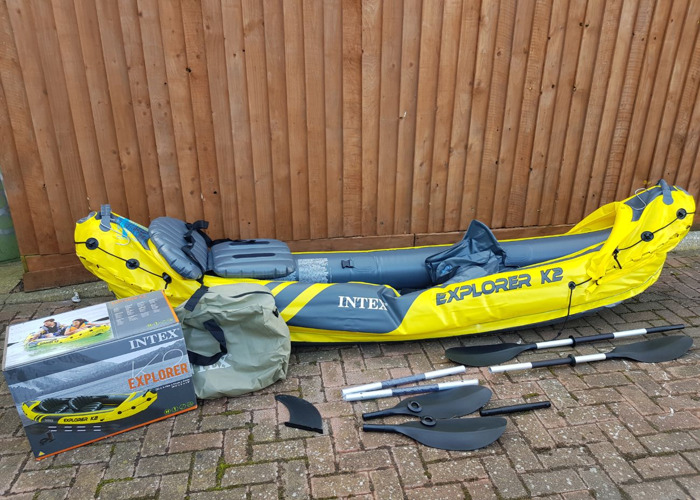 Intex 2 person kayak - 2