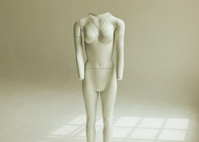 Invisible mannequin (full body female) - 2