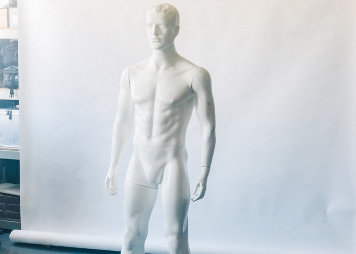 Invisible mannequin (full body male) - 1