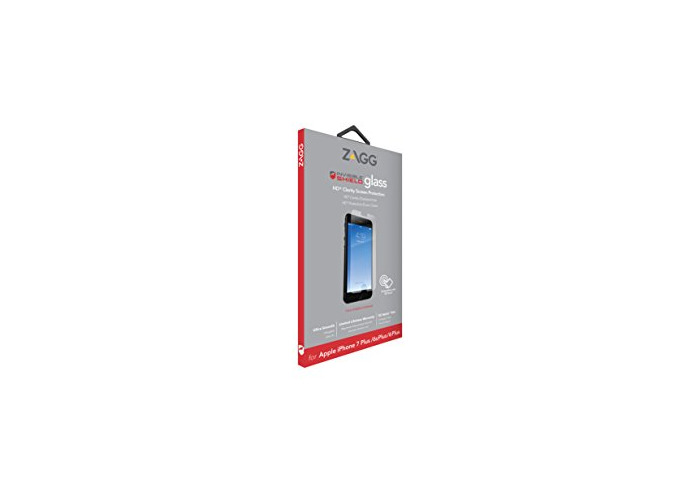 InvisibleSHIELD Glass Screen Protector for iPhone 8 Plus/7 Plus/6 Plus/6s Plus - Clear - 2