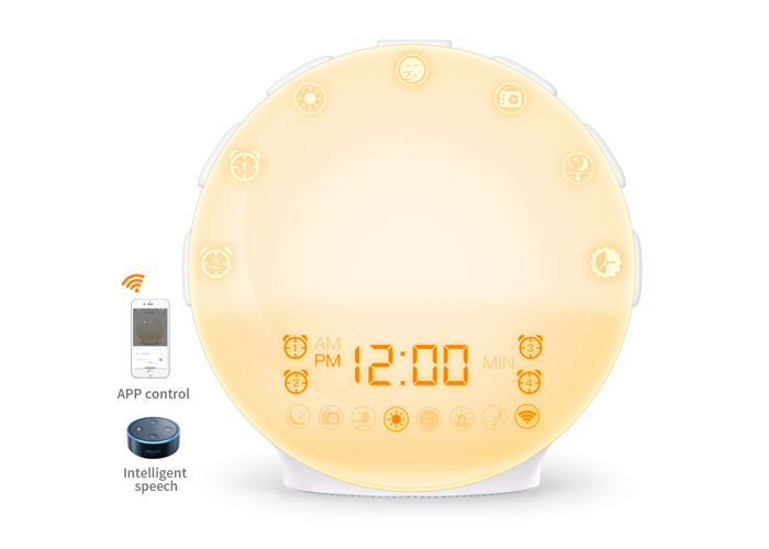 Buy [IoT Version] Wake Up Light COULAX Sunrise Alarm Clock