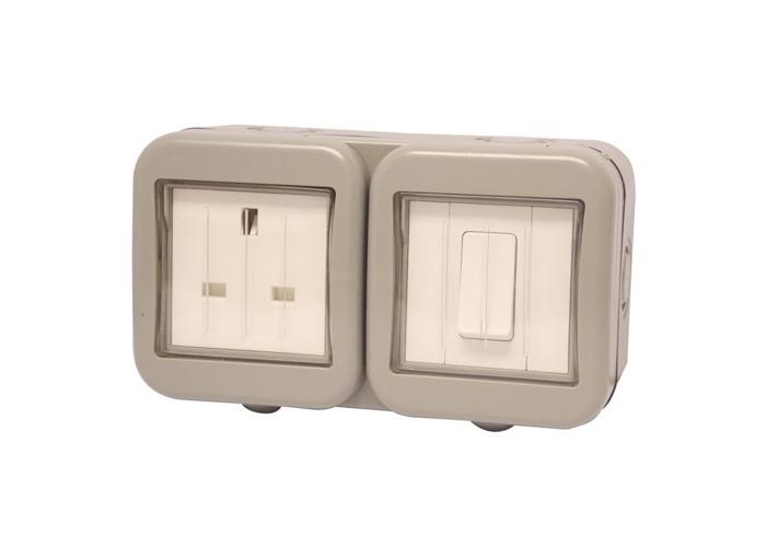 Buy Ip55 Weatherproof 13a Single Plug Socket  Switched