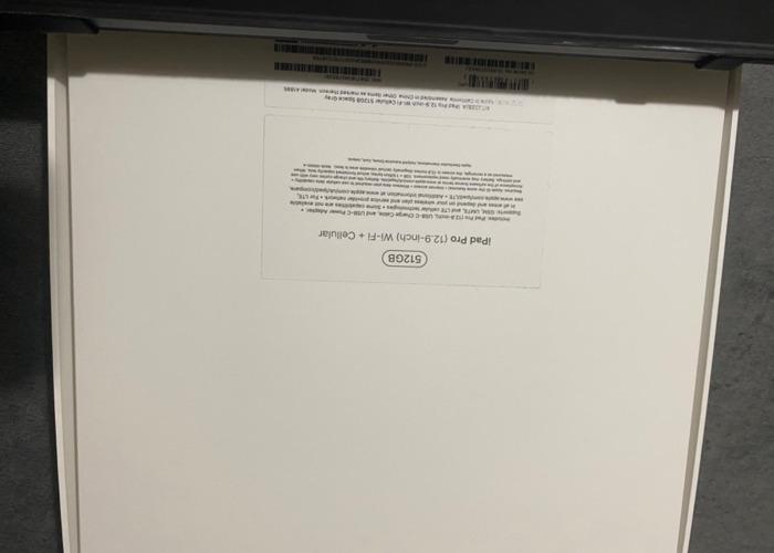 iPad Pro 12.9 512 GB - 2
