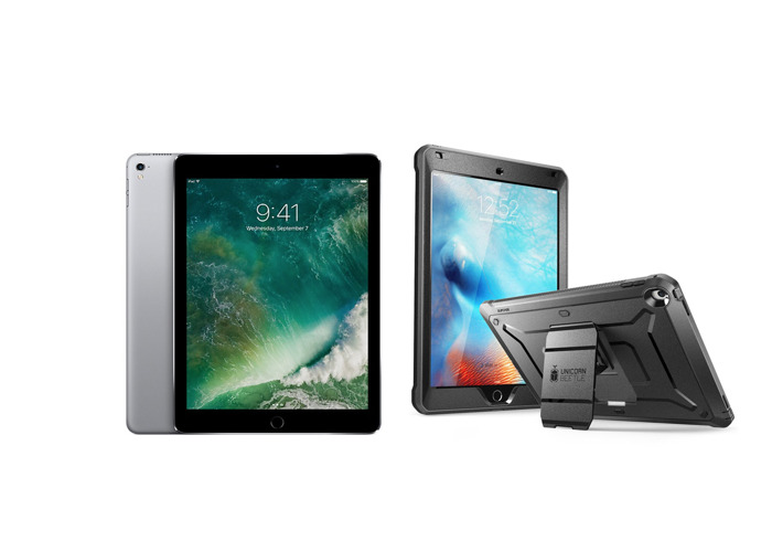 iPad Pro 9.7 with Rugged Case  - 1