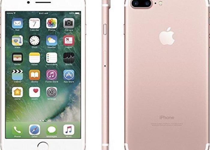 iphone 7 plus gold rose - 2